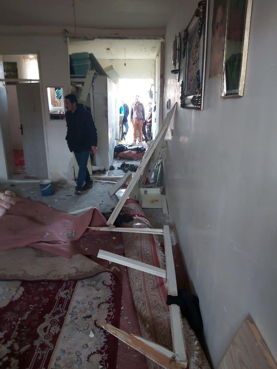 انفجار شدید ترقه دستساز خانهای را ویران کرد/ تصاویر