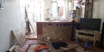 ۲ کشته و زخمی در انفجار گاز یک منزل مسکونی در کرمانشاه