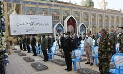 تجدید بیعت پاسداران کرمانی با شهید حاجقاسم سلیمانی+تصاویر