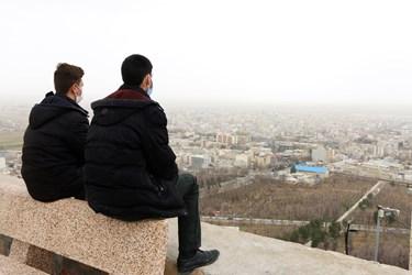 شهرکرد در غبار