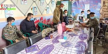 نشست توجیهی مقابله با کرونا و کنترل مبادی توسط بسیج محمد رسوالله(ص) سیسخت