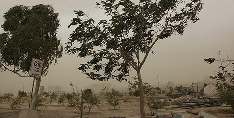 باد شدید و کاهش کیفیت هوا در نیمه غربی کشور از 20 فروردین/ کاهش دما در سواحل خزر و اردبیل
