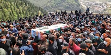 تشییع پیکر شهید مدافع حرم در سوادکوه/ شهید مدافع حرمی که حسینیه سیار داشت