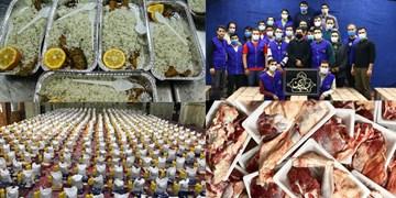 هیأتیها سور و سات عید نیازمندان را فراهم کردند + عکس و فیلم
