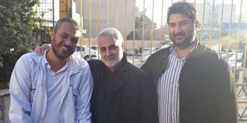 فیلم| دو یادگاری جانباز مدافع حرم از حاج قاسم/ آرزوی شهادت دارم