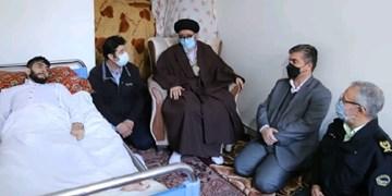 ابلاغ سلام رهبر معظم انقلاب به جانبازان تبریز