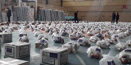 توزیع 1000 بسته معیشتی میان آسیبدیدگان کرونا/ سمنها پیشگام در خدمت جهادی به مردم