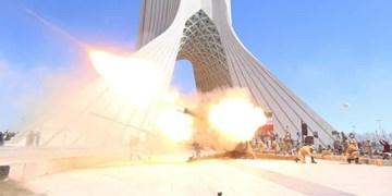 آغاز سال ۱۴۰۰ با شلیک توپ ارتش در میدان آزادی تهران