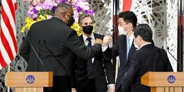 تاکید وزرای دفاع آمریکا و ژاپن بر همکاری در حمله احتمالی چین به تایوان
