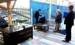 انجام تست کرونا از مسافران در ایستگاه راه آهن قم