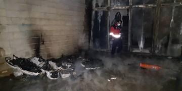 آتشسوزی در ساختمان نیمهکاره در زنجان/ سهلانگاری علت اغلب آتشسوزیها