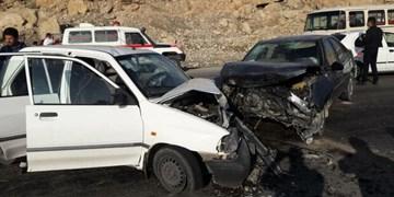 مصدومیت ۱۹۰ نفر در حوادث ترافیکی فارس طی یک روز