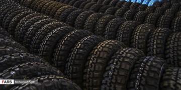 کشف ۲ هزار حلقه لاستیک خودرو احتکاری در شهرری/فرد محتکر ۱۷ میلیارد جریمه شد