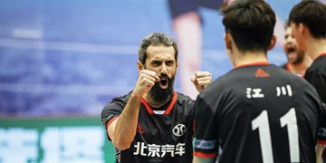 پیروزی بایک موتور در فینال نخست لیگ والیبال چین/ معروف بازی را تغییر داد