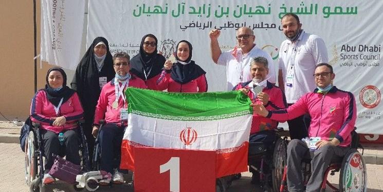 جامجهانی پاراتیراندازی العین| پایان کار تیم ملی ایران با کسب چهار مدال رنگارنگ