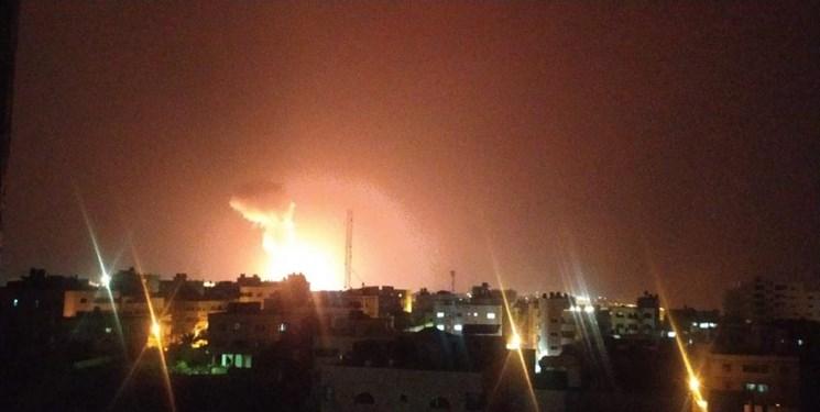 جنگندههای اسرائیلی مناطقی در نوار غزه را بمباران کردند