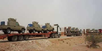 یمن؛ ائتلاف سعودی تجهیزات گسترده به مأرب ارسال کرد