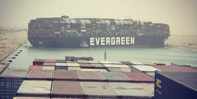 مسدود شدن کانال سوئز نرخ کرایه کشتیها را دو برابر کرد