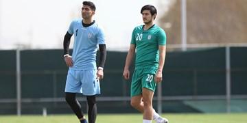 برگزاری آخرین تمرین تیم ملی قبل از بازی با سوریه