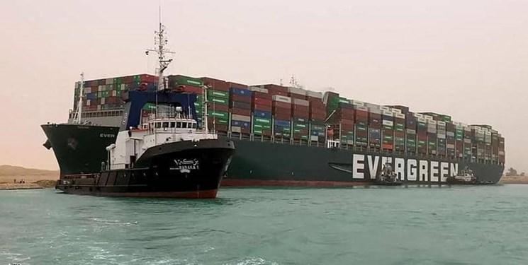 پنتاگون: بسته شدن کانال سوئز بر روی عملیاتهای نیروی دریایی تاثیر خواهد داشت