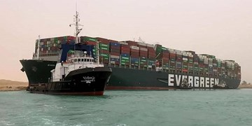 افزایش 6 دلاری خوراک دام و طیور در بازار جهانی پس از گرفتار شدن کشتی اور گیون