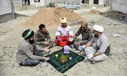 عهد جهاد در منطقه محروم کال شور خراسان شمالی