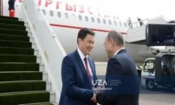 نخست وزیر قرقیزستان وارد «تاشکند» شد