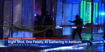 تیراندازی در شیکاگو یک کشته و 7 زخمی برجای گذاشت