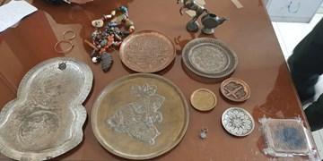کشف اموال فرهنگی و تاریخی در شهرستان میانه