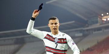 واکنش رونالدو بعد از حرکت جنجالی مقابل صربستان