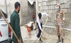 محرومیت زدایی توسط ۴۰۰ جهادگر قمی در بندرامام خمینی