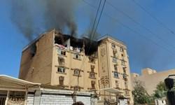 فیلم| انفجار گاز شهری در کیان آباد اهواز