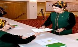 بررسی اولین دوره انتخابات اعضای خلق مصلحتی و مجلس ملی در ترکمنستان