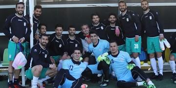 گزارش تصویری از تمرین تیم ملی فوتبال و عکس یادگاری ملی پوشان