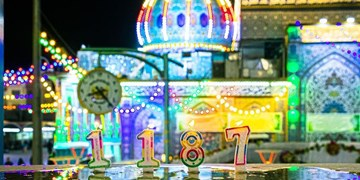 جشن تولد ۱۱۸۷ سالگی حضرت مهدی (عج) در کربلا+ عکس و فیلم