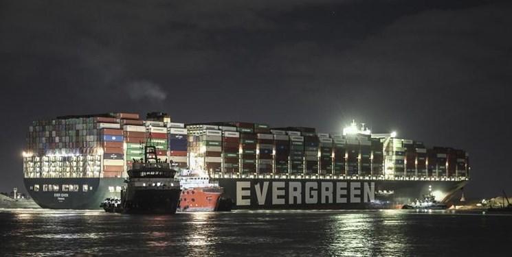 انسداد کانال سوئز و سیگنال مثبت ترانزیتی به ایران/امکان عبور بار کشتیهای معطل در دریای سرخ از داخل کشور