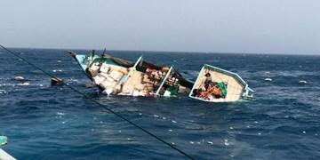 لنج باری در مسیر دبی- گناوه غرق شد/ نجات ۶ خدمه