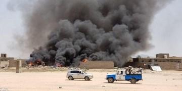 حمله هوایی ائتلاف سعودی علیه مواضع خودی در یمن