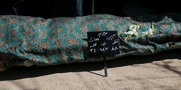 خاکسپاری زنده یاد «آزاده نامداری»