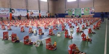 کمکهای مومنانه| توزیع ۴۰۰ بسته معیشتی در شهرستان مشگین شهر