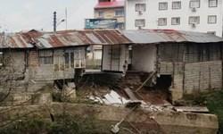 خسارت میلیاردی در پی تجاوز به حریم رودخانه/ چهار مغازه در شاندرمن تخریب شد