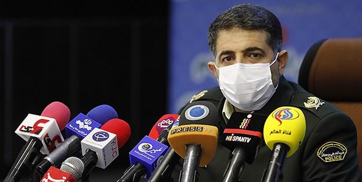ناجا: مرزهای زمینی چهارگانه با عراق مسدود است/ خدمات گذرنامهای ارائه نمیشود