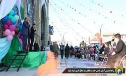 فیلم  جشن میلاد امام عصر در آستانهاشرفیه