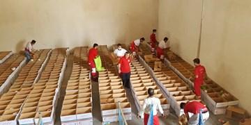توزیع ۱۰۰۰ بسته معیشتی بین خانوارهای بیبضاعت بوشهر