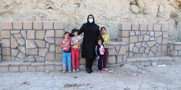 مهراندیشی در بهار 1400/عروسکهایی که دل 100 دختربچه گچسارانی را شاد کردند