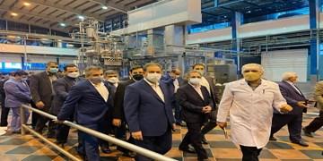 بازدید معاون اول رئیس جمهور از یک واحد تولید لبنیات در اسلامشهر
