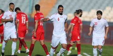 پیروزی تیم ملی ایران مقابل سوریه در نیمه اول