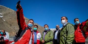 بازدید دبیرکل جمعیت هلال احمر از انبار ها و پایگاه های امدادی