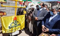 ۲۸ روستا در صالحآباد گازدار شد/ بهره مندی ۳۲۳۷ خانوار از نعمت گاز
