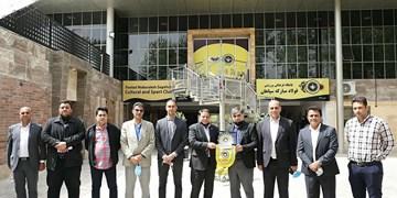 دیدار رئیس هیات فوتبال استان اصفهان با مدیرعامل باشگاه سپاهان
